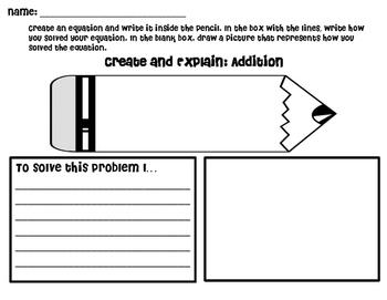 2.NBT.9 Create & Explain your thinking