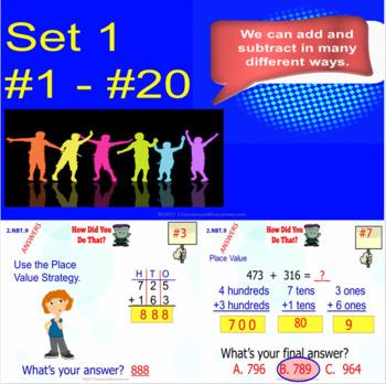 2.NBT.9 Math Interactive Test Prep – 5 Resources in 1: Master Number Strategies