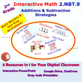 2.NBT.9 Math Interactive Test Prep: Mastering Number Strat