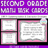 2.NBT.9 Task Cards- Explain Addition and Subtraction Strategies