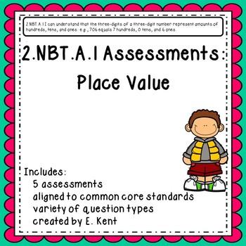 2.NBT.A.1 Assessments - Place Value