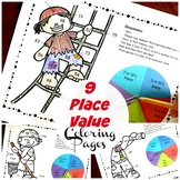 2.NBT.A.1 Place Value Pirate Coloring Game