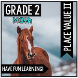 Distance Learning - 2.NBT.A.3 - Centers for Place Value Pa