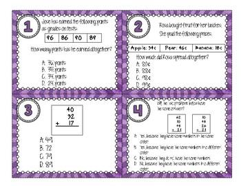 2.NBT.B.6 Task Cards