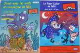 2 NEW FELIX word search games coded messages Core French Immersion centers