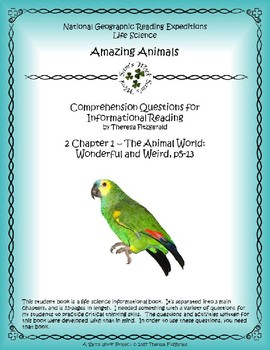 2 NGRE Amazing Animals - Ch. 1, The Animal World, Wonderful and Weird, p5-13