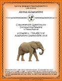 2 NGRE Animal Adaptations - Ch. 1, ABCs of Adaptations, Staying Alive, p5-15