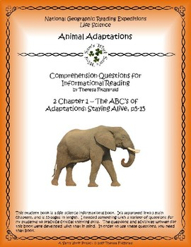 2 NGRE Animal Adaptations - Staying Alive, p5-15