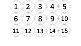 """2"""" Number Circles"""
