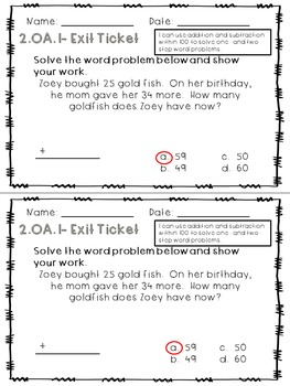 Adding Word Problems