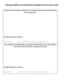 2.OA.1 Word Problems Assessment