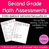 2.OA.2 Assessments- Adding & Subtracting Fluently within 20