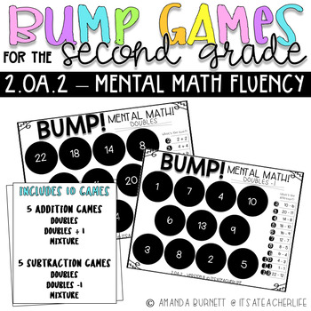 2.OA.2 | Mental Math Fluency | BUMP Games