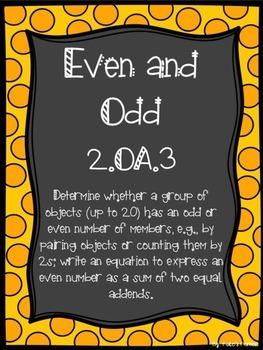 2.OA.3 Even and Odd