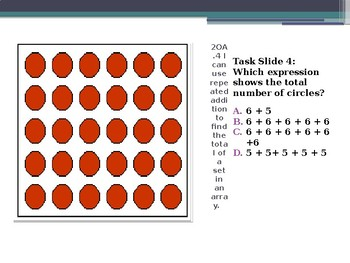 2.OA.4 Repeated Addition and Arrays