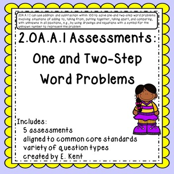 2.OA.A.1 Assessments - One and Two Step Word Problems