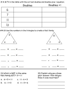 2.OA.B.2 Add and Subtract to 20 Using Different Stratgies