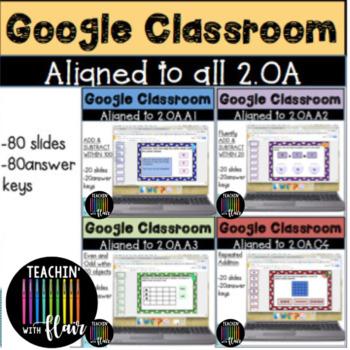2.OA. Google Classroom Bundle