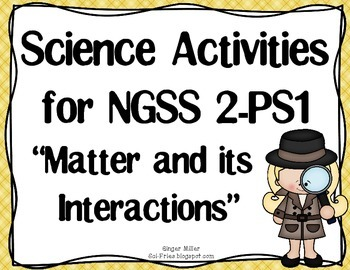 2-PS1-1 Describe and Classify Matter by Sci-Fries | TpT