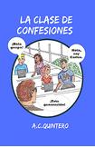 La clase de confesiones Spanish 1+: 30 novels+TM 60+ activities- Free shipping