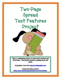 2 Page Spread Text Features Project