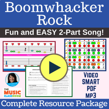 """2-Part Boomwhacker Song 