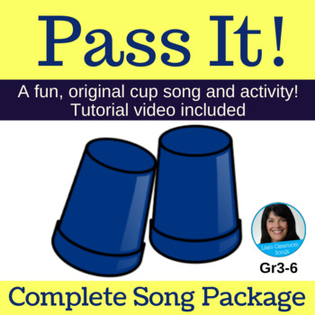 "2-Part Cup Passing Circle Singing Game | ""Pass It!"" 