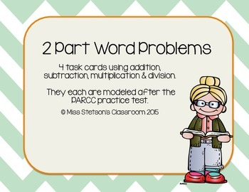 2 Part Word Problems