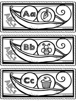 Alphabet/ABCs Visual Matching Activity Cards