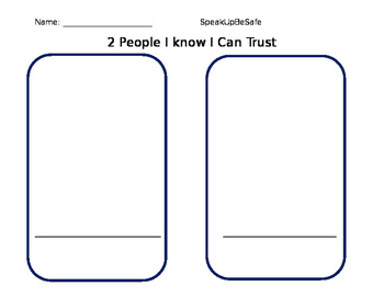 2 People I know I can Trust