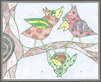 2 Percent Coloring Sheets Bundle...Tax/Tip/Commission, Incrs/Decrs/MkUp/Discnt