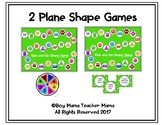 2 Plane Shape Games