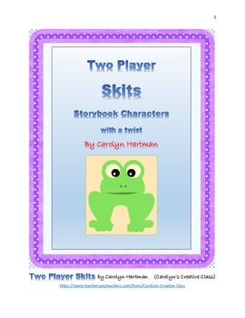 Scripts, Children's Skits-Storybook Characters with a Twist!