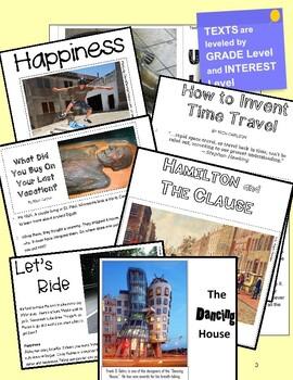 "SBAC ELA Test Prep ~ 1 Poem & 1 Text PAIRED ~ ""Asphalt Ride"" & ""Ride"""