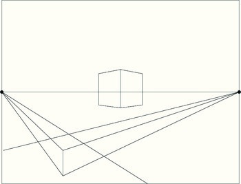 2-Point Perspective Step-By-Step Picture Guide