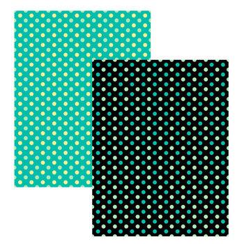 2 Polka Dot Digital Papers