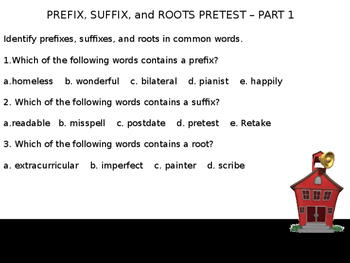 2-Prefixes and Suffixes-Complete Teacher Lesson on PowerPoint