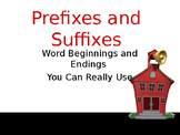 Prefixes and Suffixes-Complete Teacher Lesson on PowerPoint