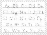2 Printable  A-Z Tracing Activites. Preschool- 3rd Grade Handwriting.