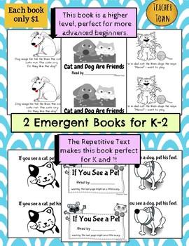 2 Printable Books for Beginning Readers