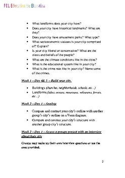 2 Project Based Lesson Plans