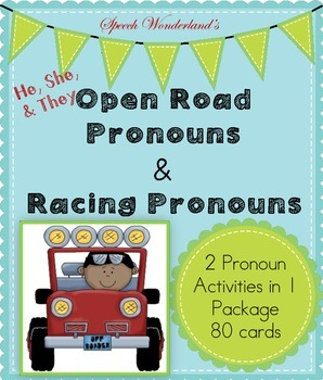 2 Pronoun Activities in 1 Package