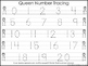 2 Queen themed Task Worksheets. Trace the Alphabet and Numbers 1-20. Preschool