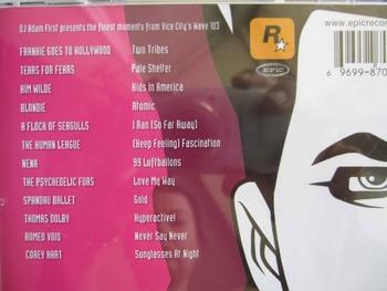MUSIC CD RETRO 80S RARE & BRILLIANT + GRAND THEFT AUTO VICE CITY VARIOUS ARTISTS