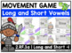 2.RF.3a - BUNDLE - Long and Short Vowels Movement Games (a, e, i, o, u)