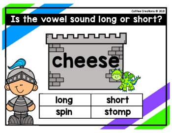 2.RF.3a - Long and Short Vowels Movement Game (e)