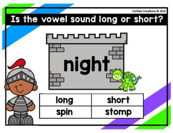 2.RF.3a - Long and Short Vowels Movement Game - (i)