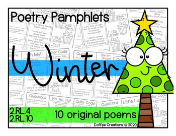 2.RL.10 - Poetry Pamphlets for Winter/December/Christmas