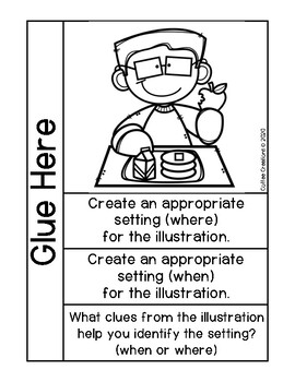 2.RL.7 - Journal Activities for Using Illustrations