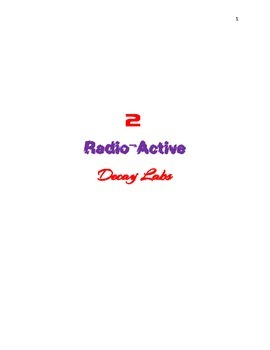2 Radio-active decay labs